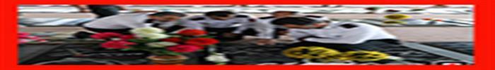 غبارروبی قبور مطهر جانفشانان آتش نشان شهید رشت به مناسبت گرامیداشت 7 مهر روز آتش نشانی و ایمنی/ آتش نشانی رشت