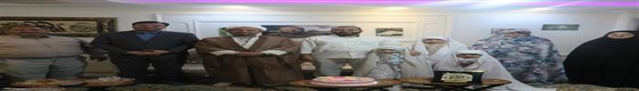 دیدار صمیمی رئیس سازمان فرهنگی،اجتماعی و ورزشی شهرداری رشت محترم باخانواده ی بزرگوارشهیدمعظم مدافع حرم حامدکوچک زاده بمناسبت ولادت باسعادت خانم فاطمه معصومه سلام الله علیها و روز دختران