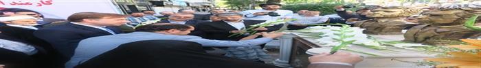 امورارتباطات سازمان فرهنگی ، اجتماعی و ورزشی شهرداری رشت:گزارش تصویری ازبرگزاری مراسم نکوداشت شهیدان انصاری و نورانی با مشارکت سازمان فرهنگی،اجتماعی و ورزشی  شهرداری  رشت