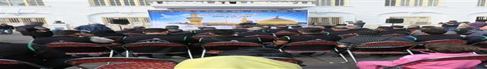 گزارش تصویری بدرقه کاروان خدام العتره شهرداری رشت اعزامی به کربلای معلی به مناسبت فرا رسیدن اربعین حسینی