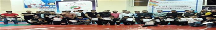 مسابقات کونگ فو جام رمضان ازسری مسابقات المپیاد ورزشی محلات برگزار شد