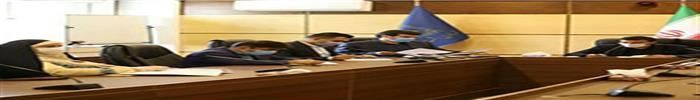 حضور رضا ویسی، معاونت شهر سازی و معماری  شهرداری رشت در جلسه شورای معاونین به ریاست دکتر ناصر حاج محمدی شهردار رشت