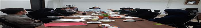 بررسی رفع نواقص و هماهنگی در روند فعالیتهای حوزه تخلفات ساختمانی مناطق با دبیر خانه کمیسیون ماده صد شهرداری رشت
