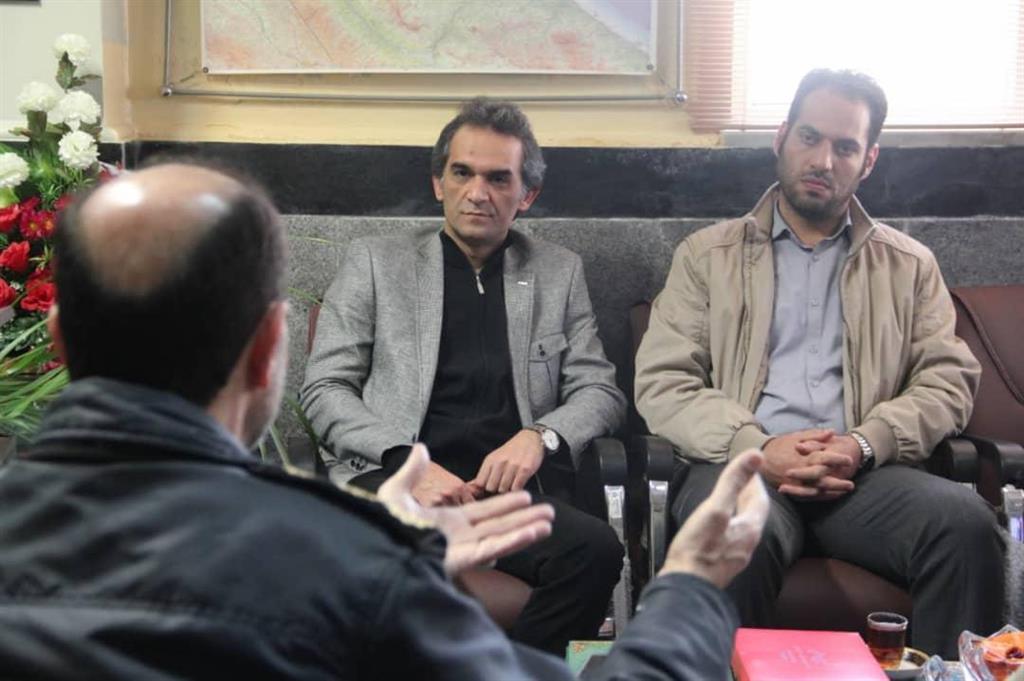 whatsappimage2019 02 06at16.16.01 - دیدار مدیر منطقه چهار شهرداری رشت با رئیس پلیس آگاهی استان گیلان